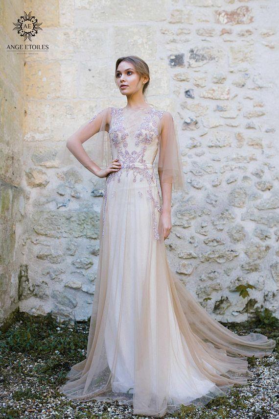 Wedding dress EVA, fairy wedding dress, vintage style wedding ...