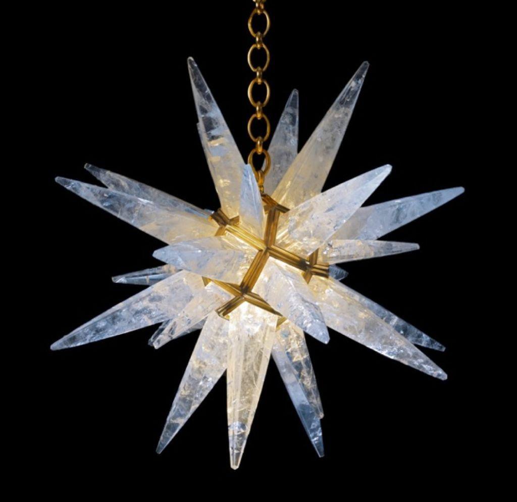 Rock Crystal Star Light – Star Chandeliers