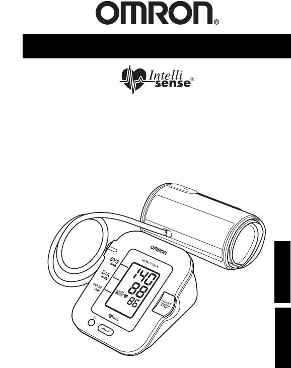 Omron Healthcare Blood Pressure Monitor HEM-711DLX User