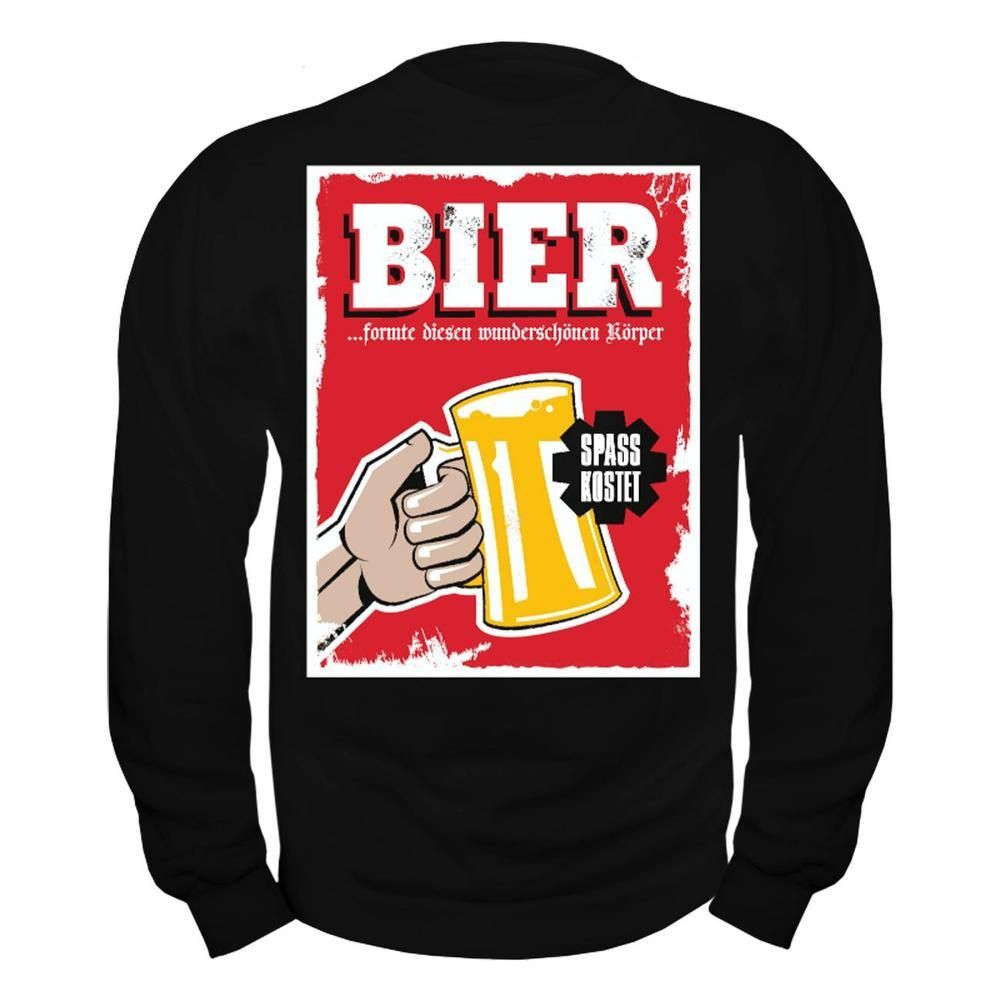 Männer Pullover Bier formte diesen schönen Körper Jetzt bestellen unter   https   mode 885fb8f056
