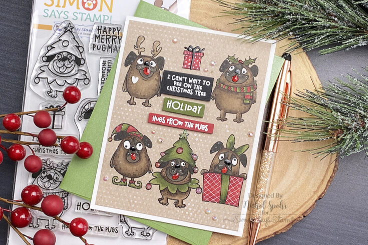 Whimsy Stamps Stamptember 2020 Exclusive Collaboration Simon Says Stamp Blog In 2020 Merry Happy Christmas Cards Whimsy Stamps