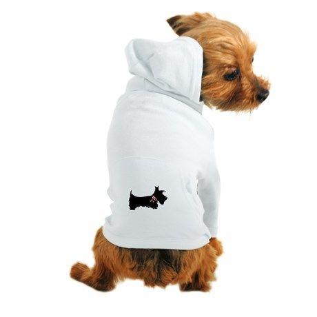 Scottie Dog Dog Hoodie by ADMIN_CP112959062