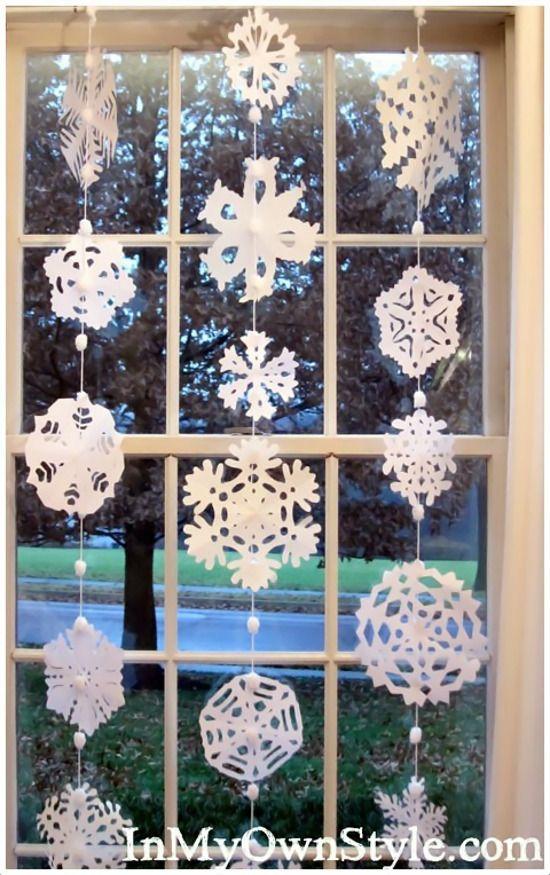 Emérita Desastre: Navidad: Copos decorativos