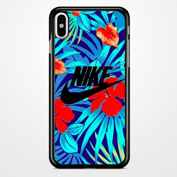 timeless design 314b1 4acc8 Nike Floral iPhone X Case in 2019 | Phone cases | Nike iphone cases ...