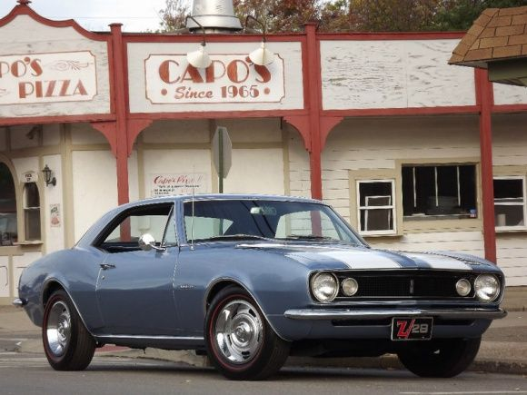 First-Year Example: 1967 Chevrolet Camaro Z/28