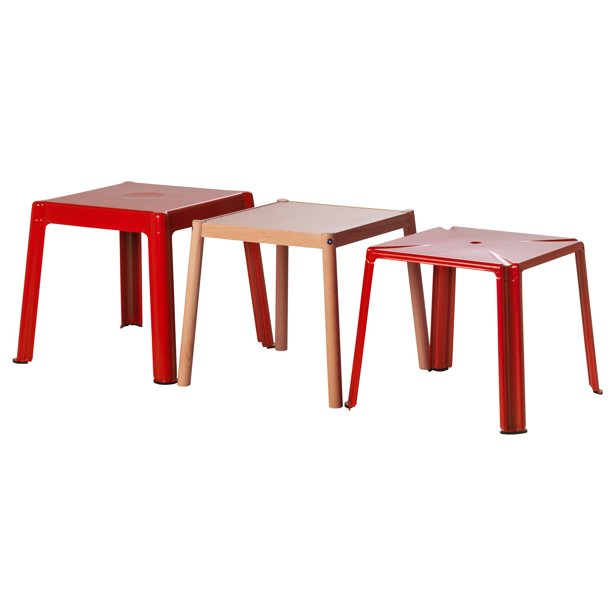 Home movie theater side tables ikea ps 2012 nesting tables set of 3 ikea ps 2012 nesting tables set of beech red length 19 width 19 height 16 length 50 cm width 50 cm height 42 cm watchthetrailerfo