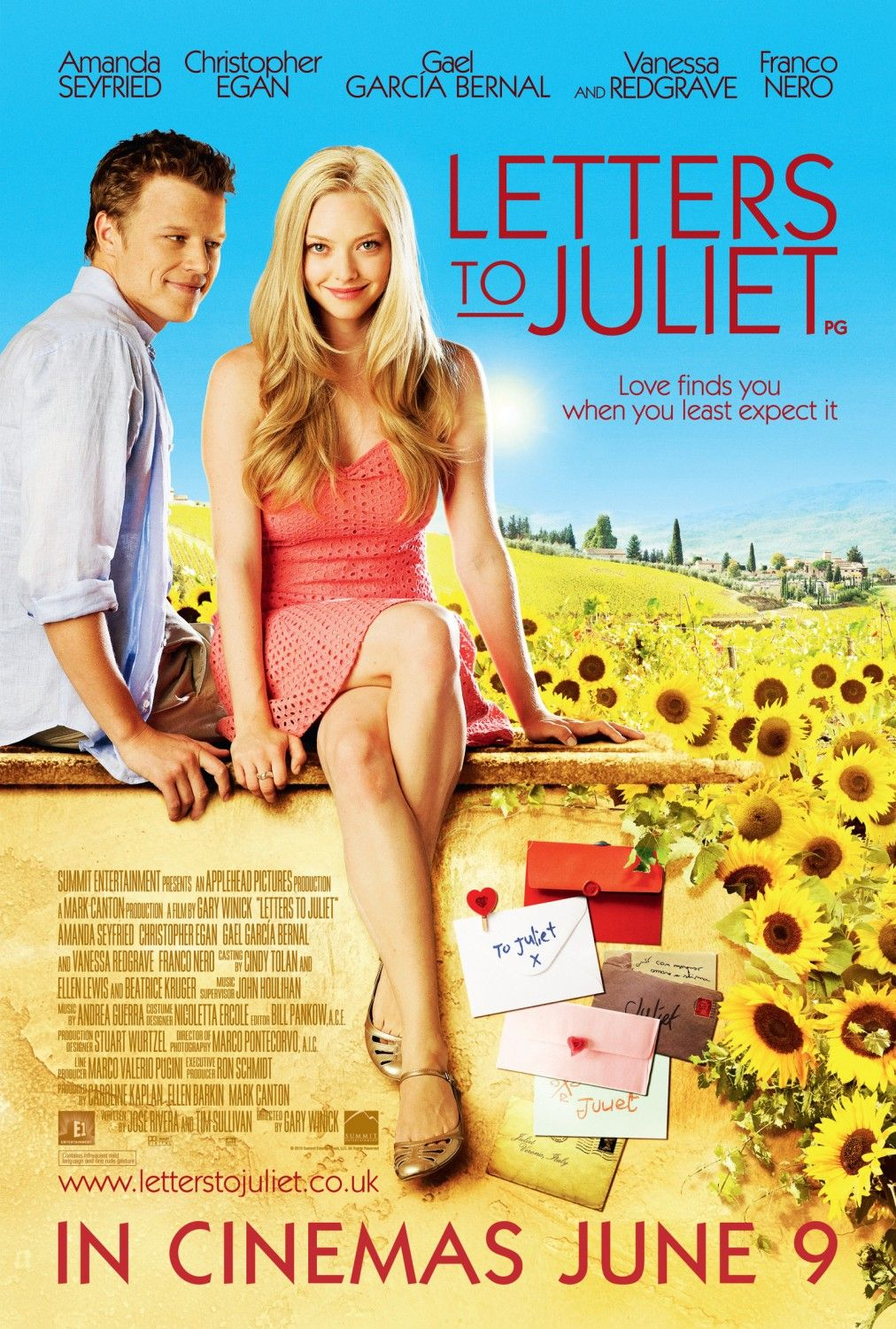 Return to the main poster page for Letters to Juliet (#2 of 3