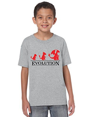 Pokemon Childrens//Boys Official Starter Characters Sublimation T-Shirt NS305