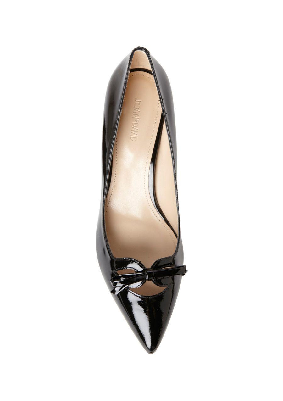 Audrey Would Approve Joan David Kitten Heel Pumps In Patent Leather Me Too Shoes Kitten Heel Pumps Joan David