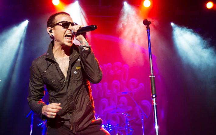 Lataa kuva Chester Bennington, rock-muusikko, konsertti, Linkin Park