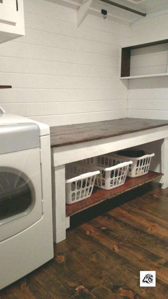 22 Amazing Basement Laundry Room Ideas That'll Make You Love #laundryrooms