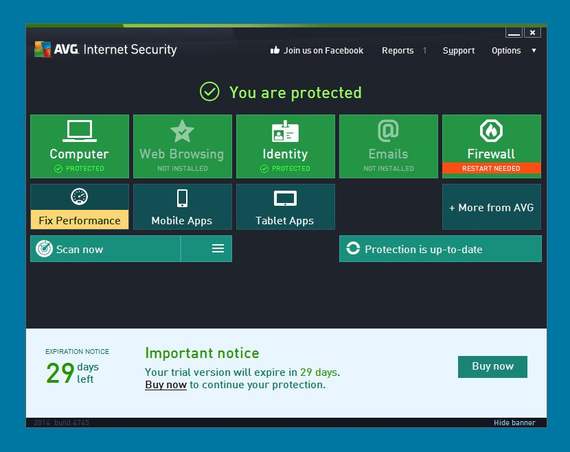 Avg Antivirus Free 2017 And Avg Internet Security 2017
