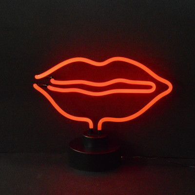 Neonetics Business Signs Lips Neon Sign