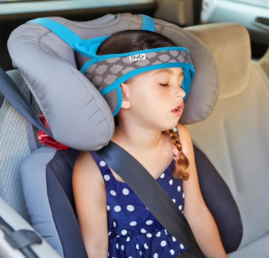 Baby Car Seat Safety Headrest Pillow Kid Sleeping Head Support Pad Drive Protect