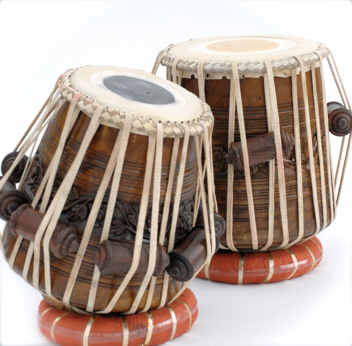 The tabla is a membranophone percussion instrument which ...