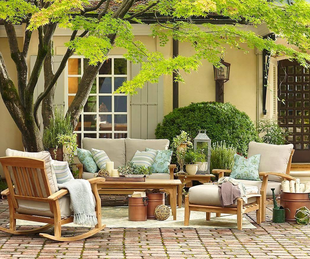 Grandes ideas para peque as terrazas decorar tu casa es - Porches de casas ...