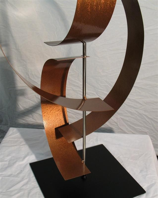 Contemporary Stainless Steel Metal Art Sculpture Georgia Metal Art