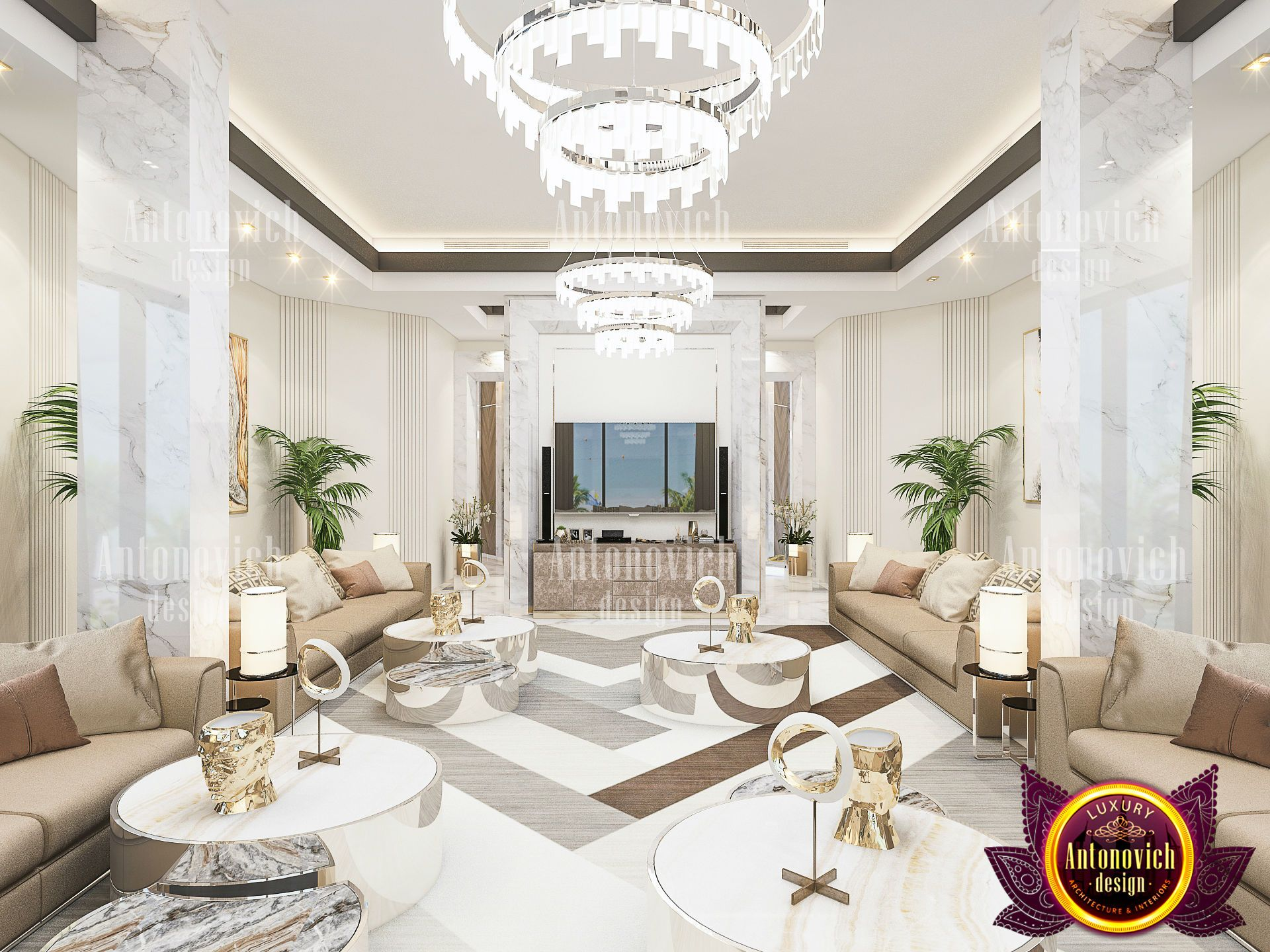 Top Interior Design Company In The Uae Creates A Single Whole From