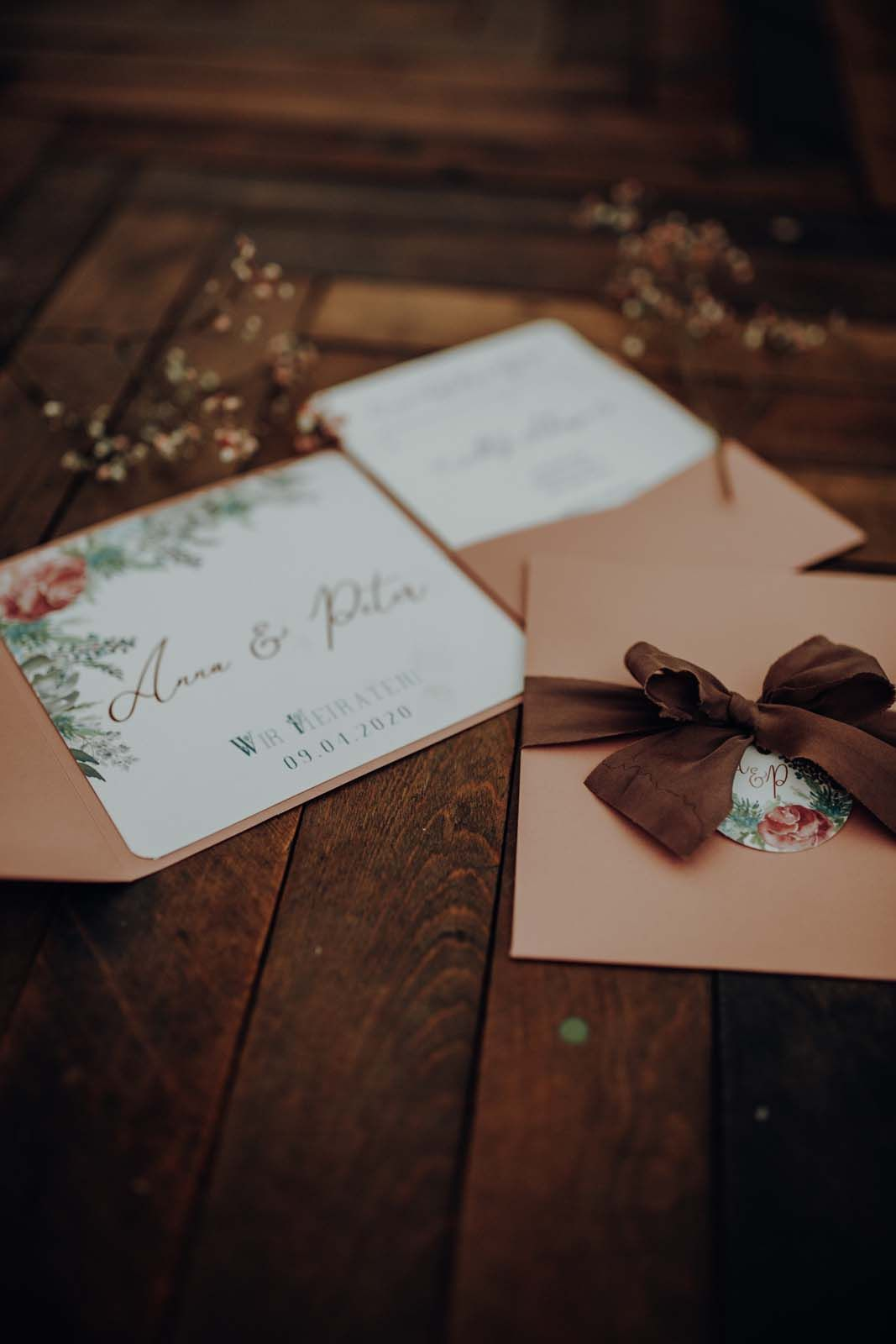 Berghochzeit Einladung Trachtenhochzeit Hochzeitspapeterie