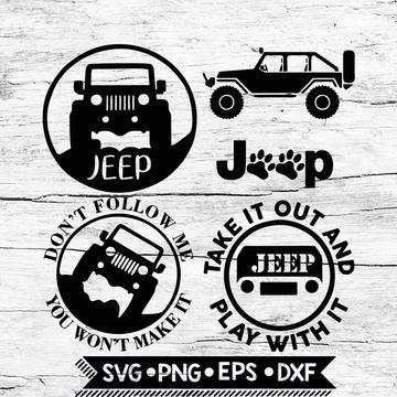 Download Jeep Starter Svg, Cricut File, Svg, Bundle, Jeep Svg, Don ...