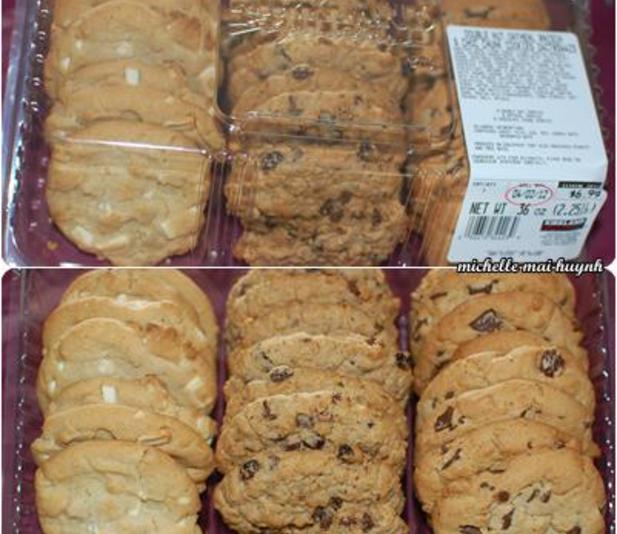 Costco Cookies - House Cookies