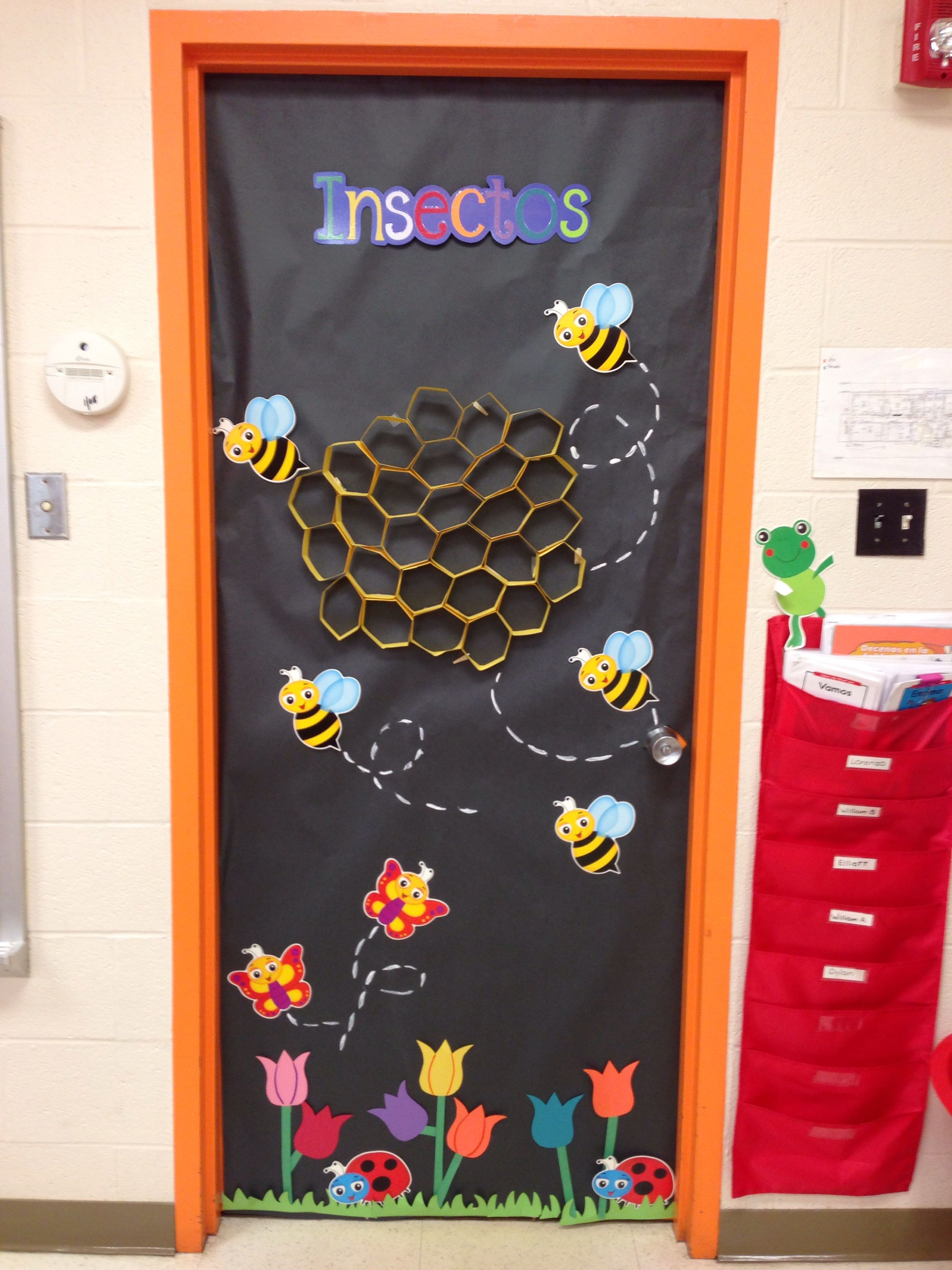 Insects Display Door Insects Theme Minibeasts Classroom Displays