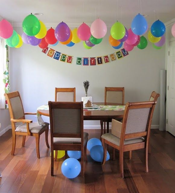 decorating with balloons in 2019 | Birthday balloons, Kids ...