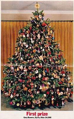 Beautiful Christmas Tree Contest Announced The Winners Of Its Most Beautiful Christmas T Vintage Christmas Tree Christmas Tree Beautiful Christmas Trees