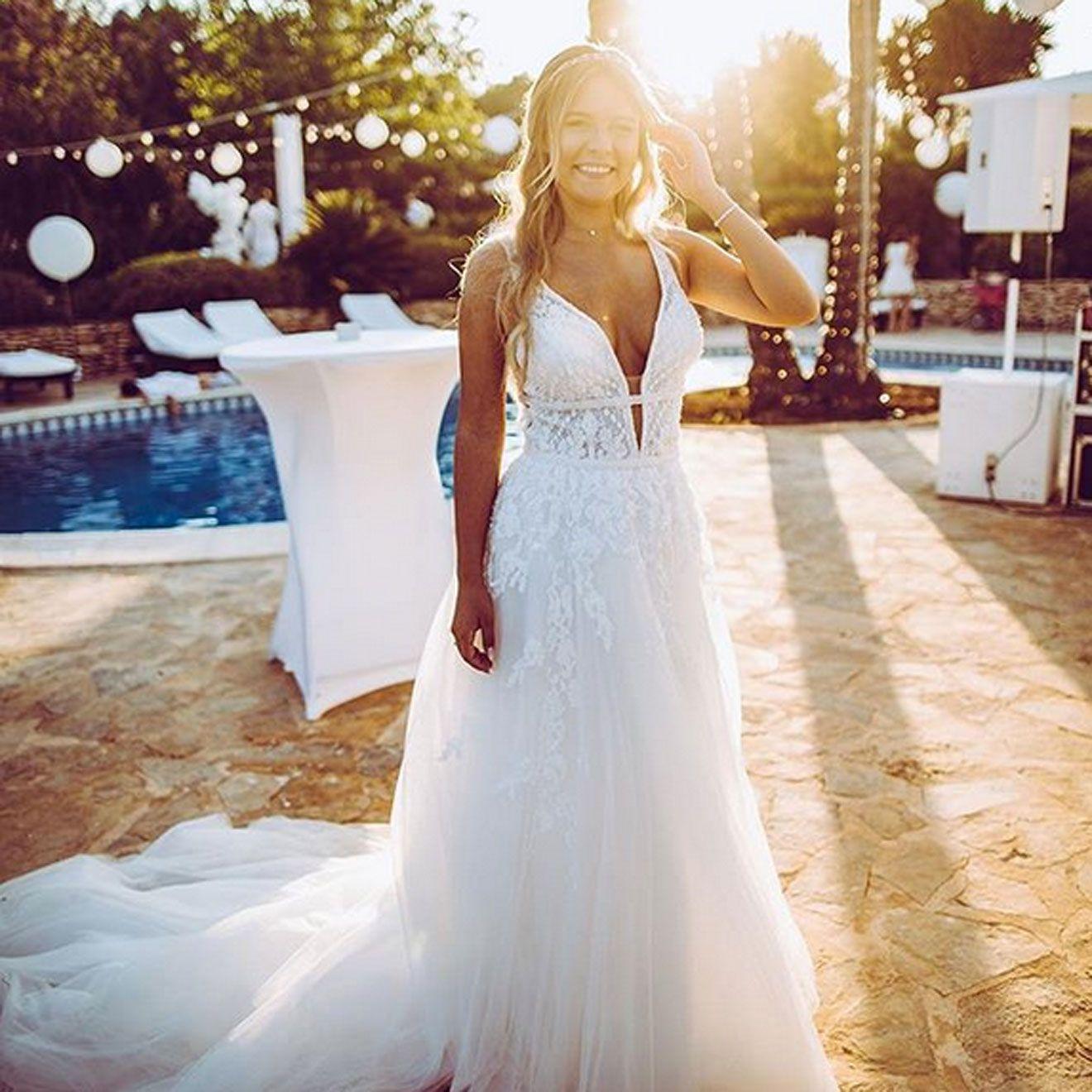 Motsi mabuse hochzeitskleid  Motsi Mabuse heiratet auf Mallorca