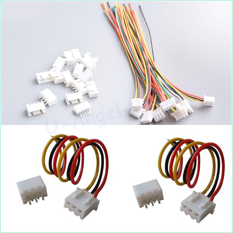 100 pair/lot 150mm RC lipo battery balance charger plug