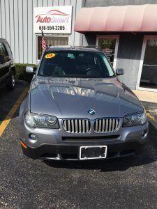 Vehicle Spotlight: 2008 BMW X3