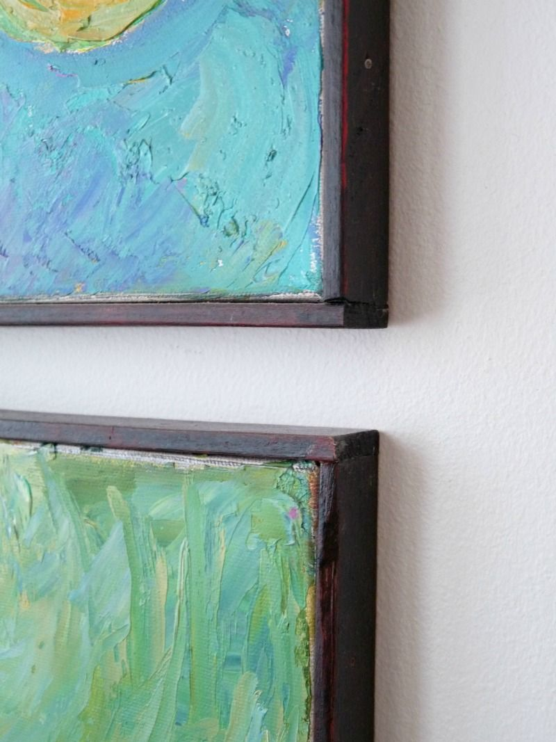 Diy canvas frame. I\'ve been looking for this tutorial for AGES ...