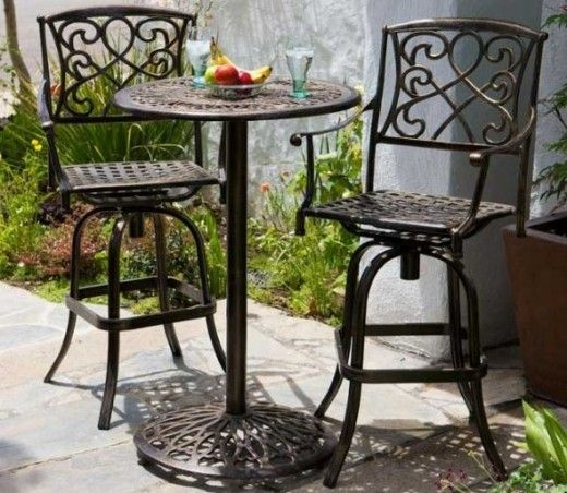 The Tall Patio Table Set Patio Table Set Outdoor Bar Furniture Bistro Table