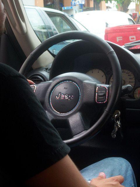 Bedazzled Steering Wheel Steering Wheel Car Accesories Bedazzled
