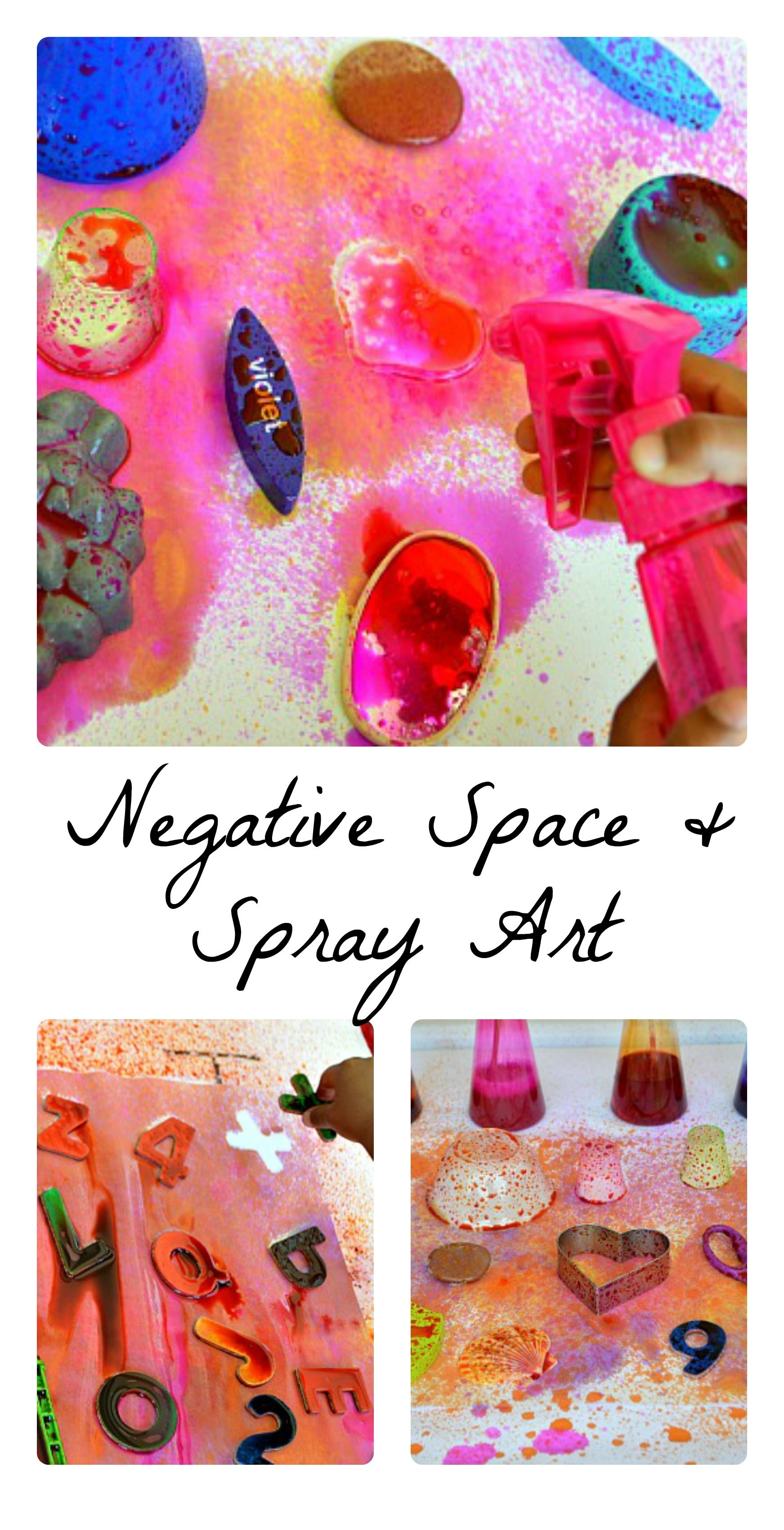 Fun Activity Fit For Toddlers Preschoolers And Kindergartners Explore Negative Space Trough