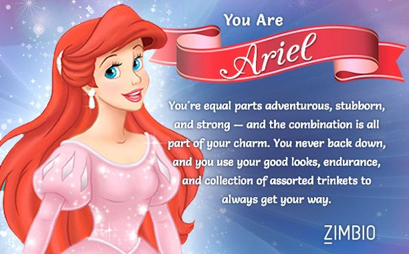 Which Disney Princess Are You? | Disney princess quotes ...