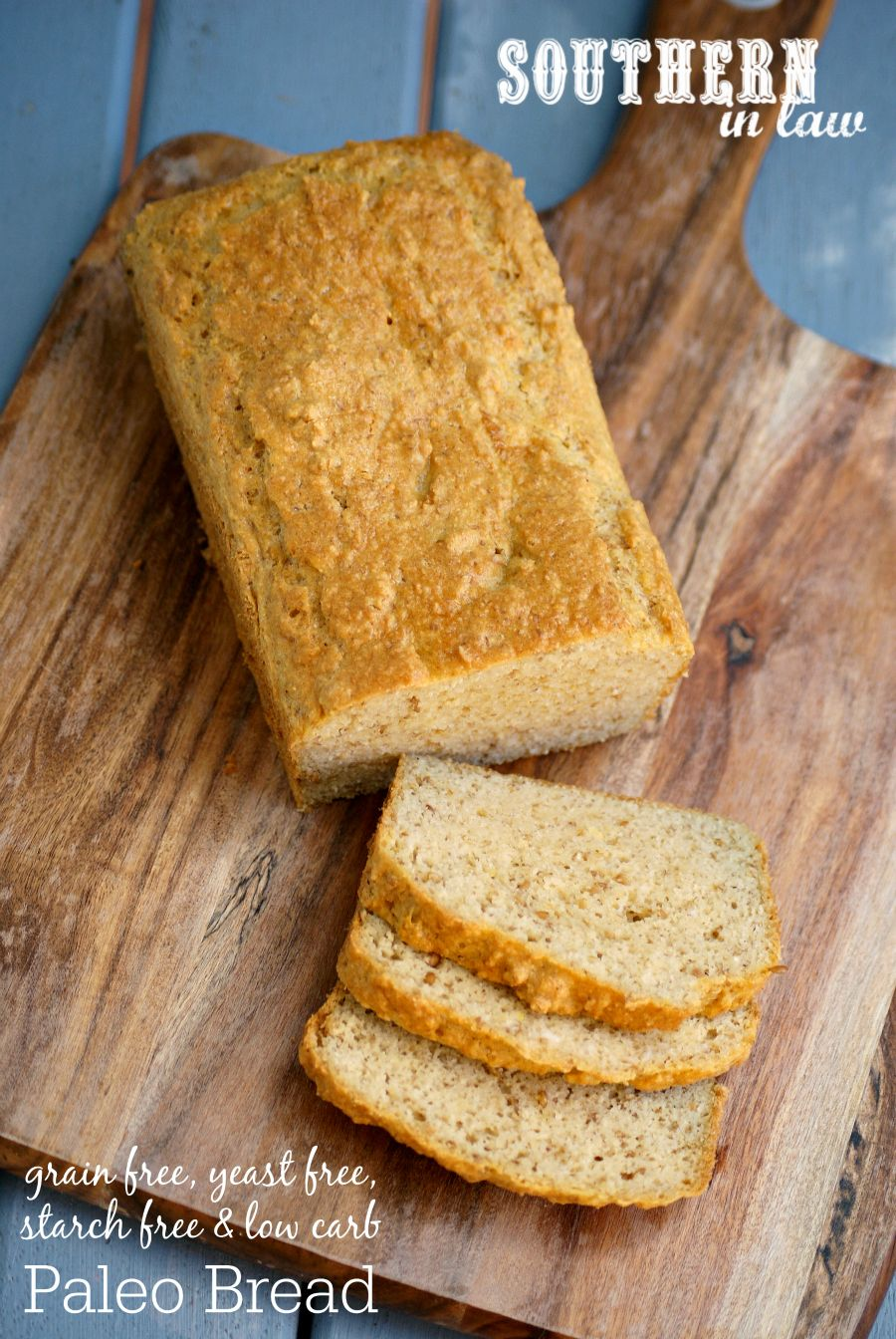 Recipe Starch Yeast Grain Free Paleo Bread Paleo Bread Yeast Free Breads Starch Free Recipe