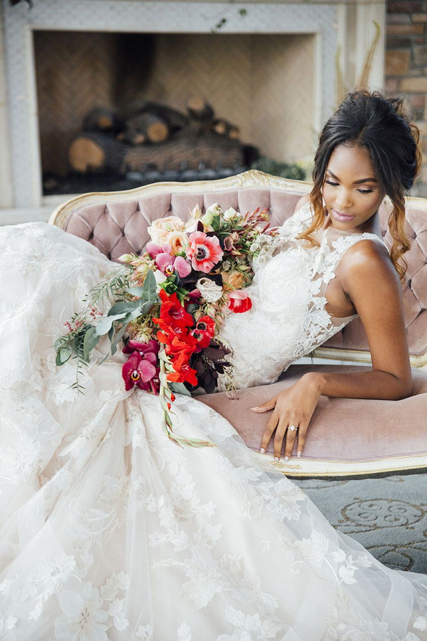 Classic Garden Wedding Inspiration At The Woodlands Country Club
