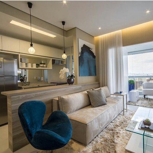 Pin de kathy gonzalez en home en 2019 salas de tv for Cocina abierta al comedor y sala de estar