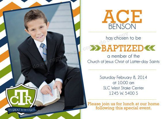 Baptism Announcement Google Search Photography Design And
