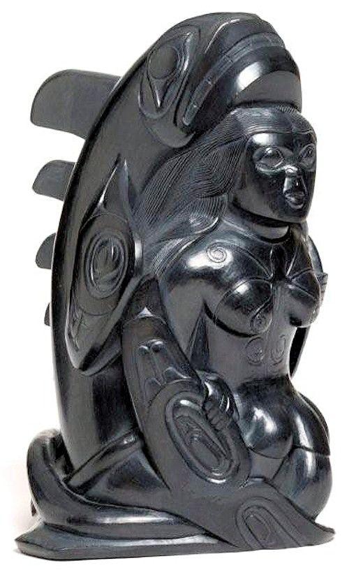Argillite carvings haida argillite carvings in haida art