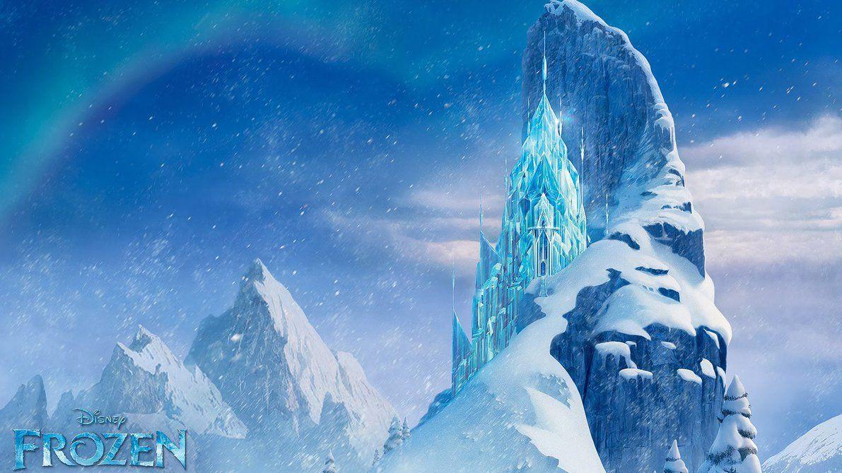 Wallpaper Frozen Ice Castle Google Search Castelos De Gelo