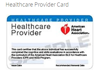 Healthcare Provider Card Cards Health Care American