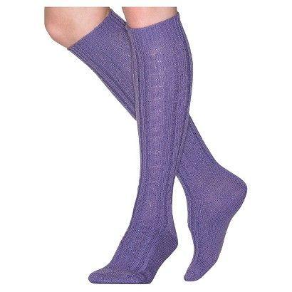 d32b735e0 Wigwam Women s Classic Wool Cable Knee High Socks