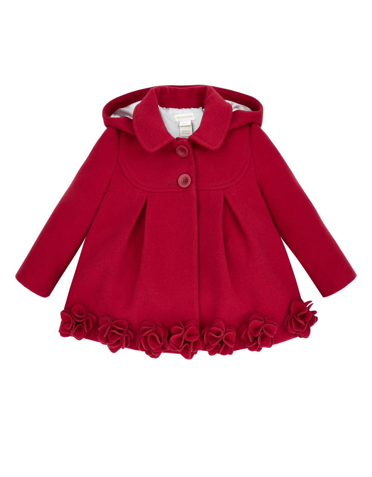 9a4185873 BABY ROSALIE ROSES COAT - Absolutely gorgeous coat for baby girls and  toddlers. http: