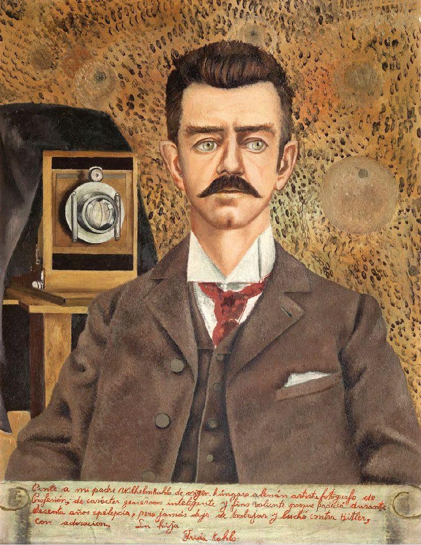 Frida Kahlo • Retrato de mi padre, 1951