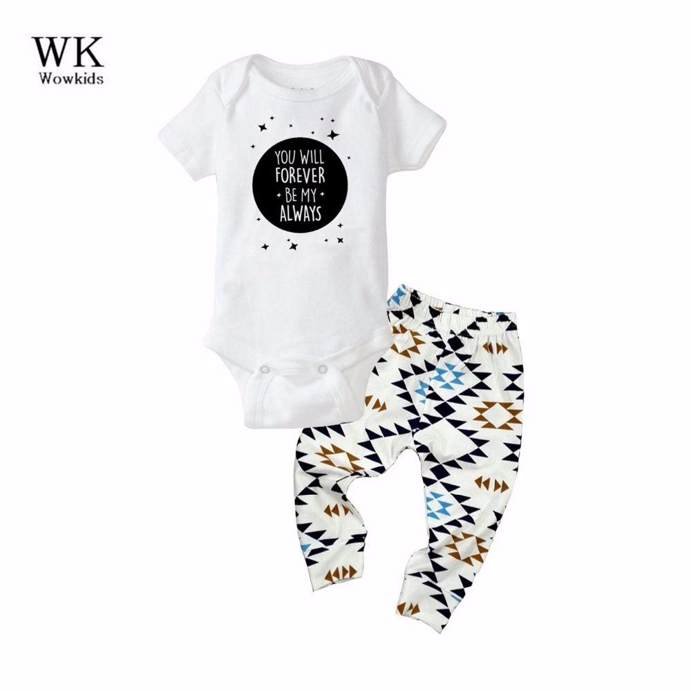 Baby Boy Sets meisje jongen Kleding Zomer Lente Cartoon korte Mouw Rompertjes + Broek 2 stks Baby dragen Siamese Kleding Sets