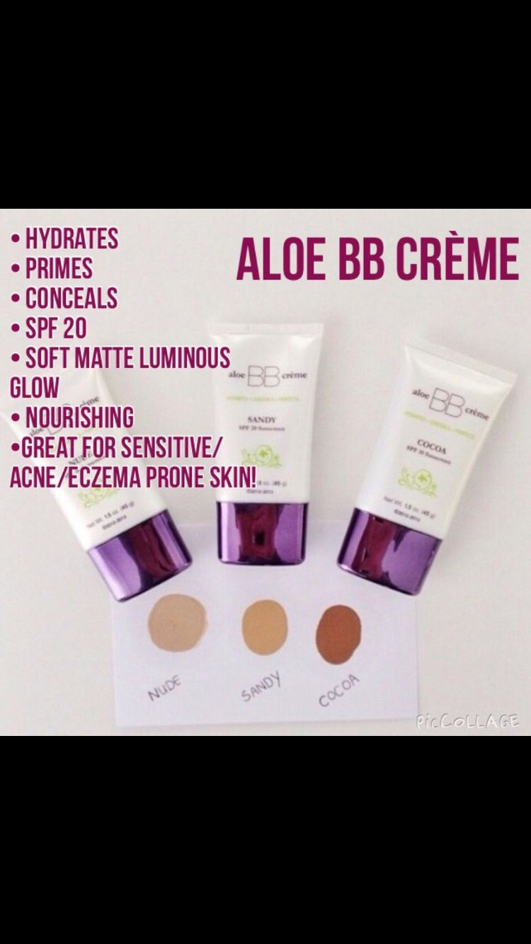 Are you unable to wear makeup due to sensitive skin Allergic to