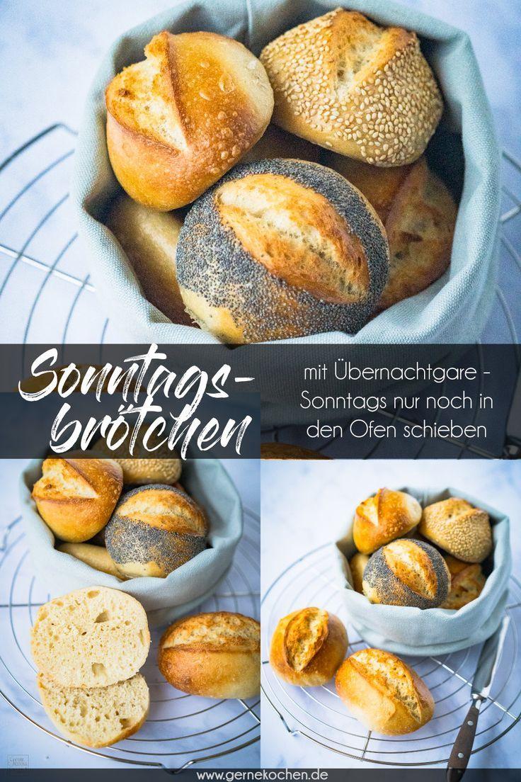 Sonntagsbrotchen Rezept In 2020 Mit Bildern Rezepte Sonntagsbrotchen Brot Selber Backen Rezept