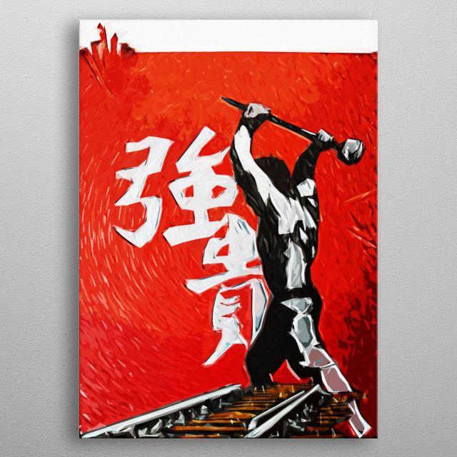 The Hammer by Daniel Clark | metal posters - Displate | Displate thumbnail